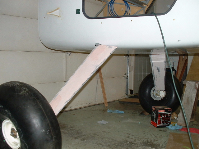 Landing Gear Fairing and Tundra Tires